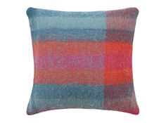 Lax mohair cushion, £39 MADE.COM Textile artist and designer, Ptolemy Mann, is a colour pro. We're obsessed with her Pinterest. Her collection, Lax, features natural mohair in rich patterns and colours.