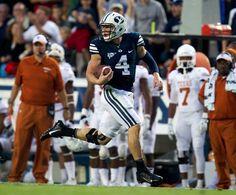Taysom Hill! Some of his 259 vs Texas. BYU football :)