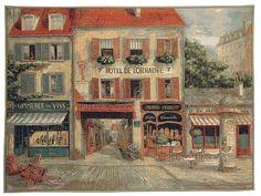 Hotel de Lorraine tapestry Fabrice de Villeneuve