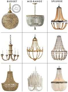 Savvy Home: Looking For: A Casual Textured Chandelier