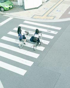 fluoric: Schoolgirls (by hisaya katagami)