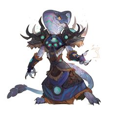 Sethrak shaman by Drkav on DeviantArt Fantasy Character Design, Character Design Inspiration, Character Concept, Character Art, Concept Art, Fantasy Races, Fantasy Art, Fantasy Creatures, Mythical Creatures