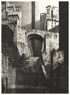 Gérard Trignac (1955-) - Le Vieux Bourg
