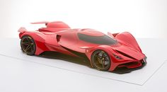 Thesis study: Ferrari's return to Le Mans. Creating the ultimate experience of owning a pedigree Le Mans Ferrari,   though one-off exclusivity.