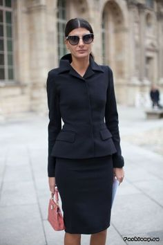 Business attire for women.