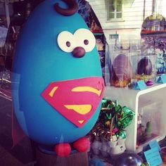 Oeuf de Pâques Super Héros du chocolatier Délices des Sens