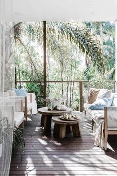 step inside Darren Palmer's beach-inspired home in Bondi Outdoor Areas, Outdoor Seating, Outdoor Rooms, Outdoor Living, Outdoor Decor, Outdoor Patios, Outdoor Kitchens, Outdoor Sofa, Porches