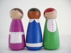 peg dolls!