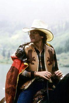 JD on horseback.