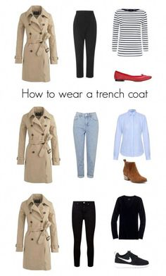 Fashion Tips Over 40 How to wear a trench coat by pipa-birdy More.Fashion Tips Over 40 How to wear a trench coat by pipa-birdy Outfit Generator, Trench Coat Outfit, Beige Trench Coat, Grey Coats, Burberry Trench Coat, Fashion Mode, Fashion Outfits, 2000s Fashion, Petite Fashion