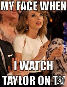 me when I see music award shows. Taylor Swift Jokes, Young Taylor Swift, Long Live Taylor Swift, Taylor Swift Videos, Taylor Swift Pictures, Taylor Alison Swift, My Face When, Red Taylor, Role Models