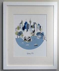 This Sydney City Print is perfect! #zulilyfinds