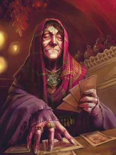 the diviner - the reader - divination - magic
