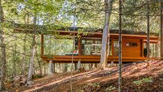 A Home in the Woods in Canada With Amazing Views of Nature | Home Design Lover