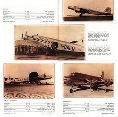 https://flic.kr/p/GxMC1W | Alitalia Fleet Flotta 1947-1980_2, Fiat G12, Avro 691 Lancastrian, DC-4
