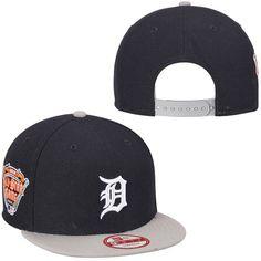 Detroit Tigers New Era 2005 MLB All-Star Patch Redux 9FIFTY Snapback Adjustable Hat - Navy Blue/Gray - $27.99