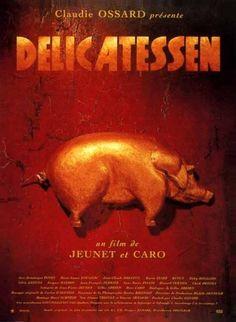 Affiche du film Delicatessen