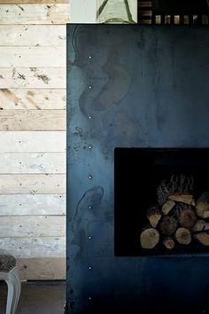 plate steel fireplace_