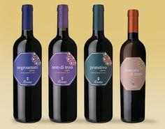 le nuove #etichette linea GDO della Rivera #packaging #label #wine #deisgn