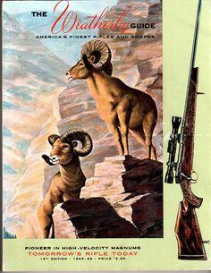 Weatherby Rifles & Scopes Catalog 1965-1966 John Wayne Roy Rogers General Curtis LeMay