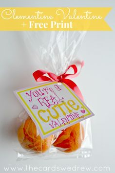 Clementine Valentine + Free Print from The Cards We Drew