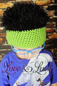 Hulk Avengers Inspired Crochet Hat Super by LoveandLuckCrochet, $20.00