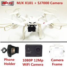 107.09$  Watch now - http://alisuu.worldwells.pw/go.php?t=32731877265 - RC Helicopter MJX X101 Quadcopter 6-Axis Gyro Drones  SJ7000 WiFi Camera HD 2.4GHZ Drone With Camera Dron Quadrocopter VS X8W  107.09$