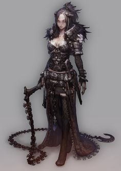 Beautiful Science Fiction, Fantasy and Horror art from all over the world. Fantasy Female Warrior, Warrior Girl, Fantasy Armor, Medieval Fantasy, Warrior Women, Female Art, Female Character Design, Character Design Inspiration, Character Concept