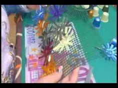 DIY. Cortina de cápsulas de café - YouTube