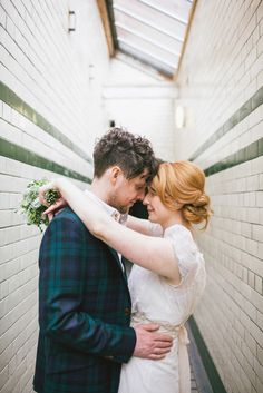 DIY Wedding in Victoria Baths: Fiona & Jonny