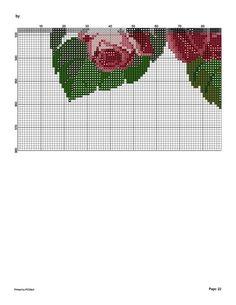 127579-c75b2-43493038-m750x740-u04ccb (541x700, 83Kb) Cute Cross Stitch, Cross Stitch Rose, Cross Stitch Flowers, Cross Stitch Charts, Cross Stitch Patterns, Cutwork, Rug Making, Cross Stitching, Needlepoint