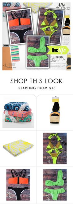 """Neon"" by vanjazivadinovic ❤ liked on Polyvore featuring Pierre Hardy, Kenzo, Casetify, polyvoreeditorial and zaful"
