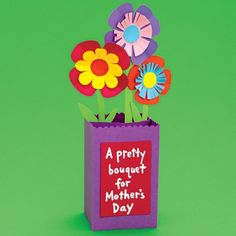 Mothers Day Craft Ideas for Kids or the Classroom  Instructions at www.spoonful.com