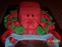 Lobster Bake Cake!