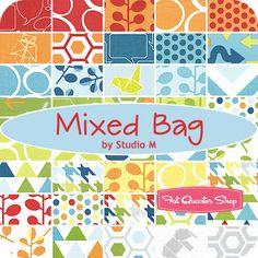 Mixed Bag Layer Cake Studio M for Moda Fabrics - Fat Quarter Shop