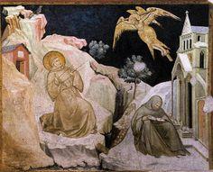 LORENZETTI, Pietro Stigmata of St Francis c. 1320 Fresco Lower Church, San Francesco, Assisi by renzodionigi, via Flickr