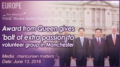 World Mission Society Church of God won the Queen's Award for Voluntary Service.