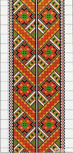 Cross Stitch Gallery, Cross Stitch Borders, Cross Stitch Flowers, Cross Stitching, Cross Stitch Patterns, Folk Embroidery, Cross Stitch Embroidery, Embroidery Patterns, Quilt Patterns