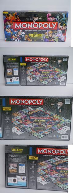 Contemporary Manufacture 180349: Factory Sealed Disney Parks Villains Monopoly Collectors Edition Hard To Find -> BUY IT NOW ONLY: $109.99 on eBay!