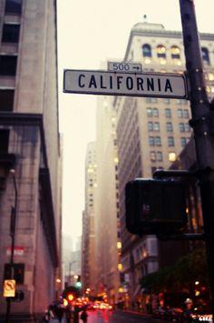 California Avenue, San Francisco.