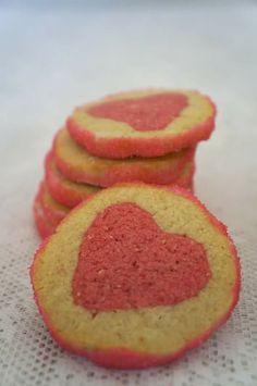 """Galletas """"corazon"""" / biscuits """"coeur"""""""