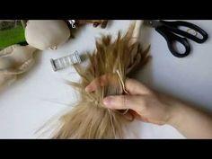 Причёска кукле - YouTube