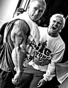 Lee Priest & Tom Platz