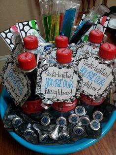 Welcome to the neighborhood gift basket