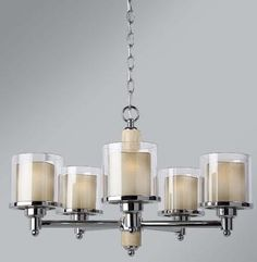 Bella Chandelier-- MOM: this would look BEAUTIFUL over the table...would tie in the capiz from the backsplash and is nice and elegant, but still simple/contemporary