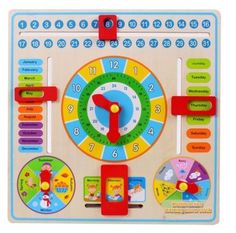 Cheap toy soft, Buy Quality toy vibration directly from China toy earrings Suppliers: Calendar Clock Puzzle Hanging Wooden Board Children Kids Early Education Toy Learn Time Season Weather Month Birthday Countdown, Birthday Calendar, Countdown Calendar, Kids Calendar, Early Learning, Kids Learning, Book Activities, Toddler Activities, Preschool Weather Chart