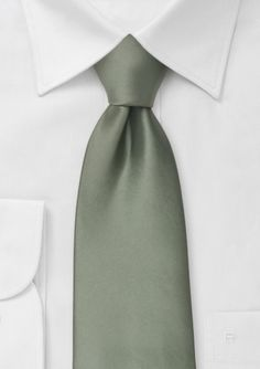 Necktie - Khaki green with grey crescents and black dots Notch FhrQf3