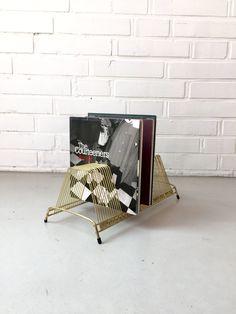Vintage Plattenständer, 7 inch Plattenhalter, West Deutschland, Vinyl Platten…
