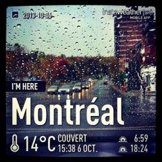 Enfin!?!? #automne. #meteo #montreal #quebec #instagram My Love, City, Instagram, Fall