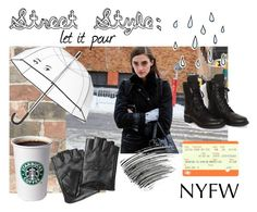"""""""NYFW Street Style"""" by tinytem ❤ liked on Polyvore featuring Wall Pops!, Chanel, Bobbi Brown Cosmetics, Kate Spade and Karl Lagerfeld"""